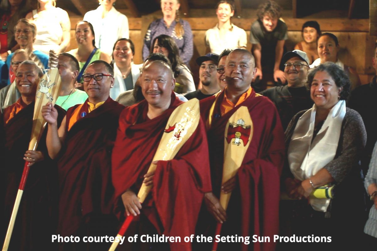 Lummi Ceremony for Tibetian Monks